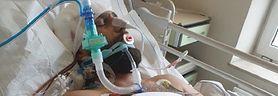 Łukasz walczył z tętniakami w mózgu. Teraz jest w śpiączce i potrzebuje pomocy