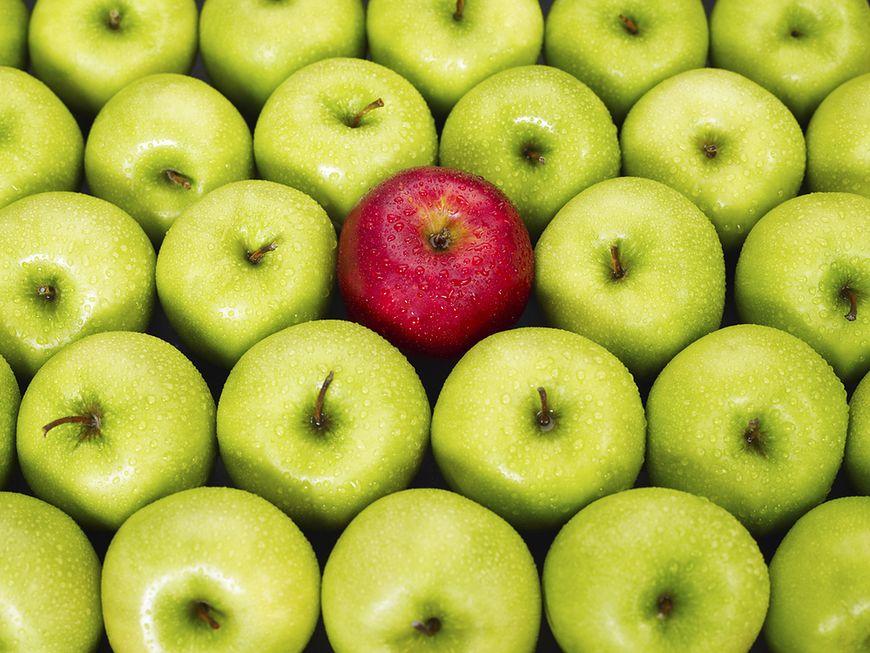 Jabłko dziennie gwarantem zdrowia