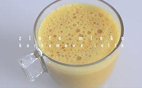 Kurkumowe latte, czyli sposób na odporność i energię (WIDEO)