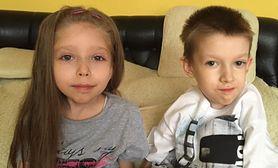 Rodzeństwo chorujące na SMA1 waży razem 33 kg. Potrzebują naszej pomocy