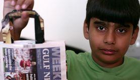 Nastolatek walczy o środowisko. Produkuje torby z papieru