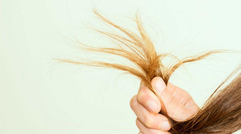 Brzydkie i zaniedbane włosy