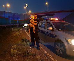 Pijany uciekał przed policją. Z tyłu wiózł 2-letnią córkę
