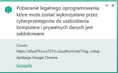 Z antywirusem Kaspersky Free wirus CloudFront malware nie ma szans!
