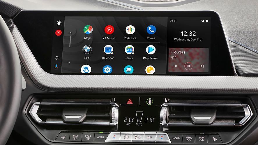 Android Auto 5.1 powinien rozwiązać szereg ostatnich problemów, fot. materiały prasowe BMW