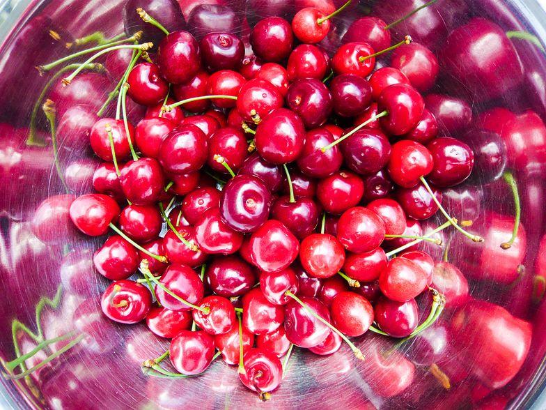Wiśnie zawierają melatoninę, która powoduje senność