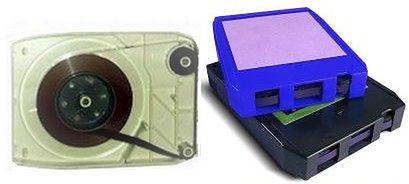 8-track cartridge - kaseta magnetofonowa, która używana była głównie w USA i samochodach
