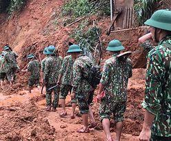 Błoto zabiło 14 żołnierzy. Tragedia w Wietnamie
