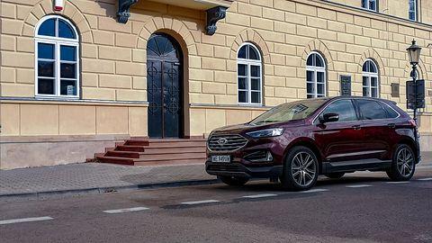 Ford Edge: audio B&O PLAY, wspomaganie parkowania i system Ford SYNC 3