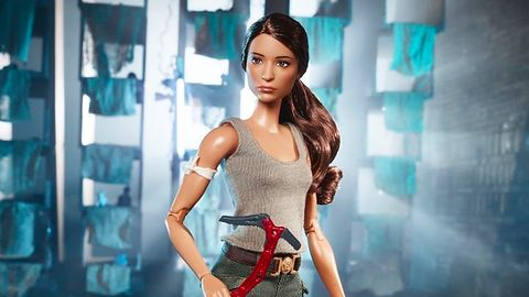 Barbie jako Lara Croft