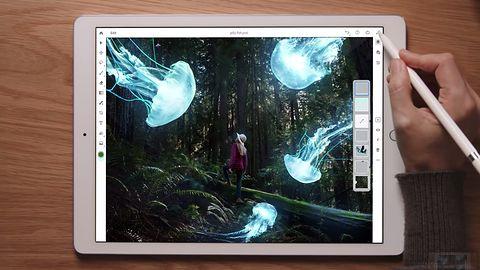 Photoshop CC dostanie więcej sztucznej inteligencji, iPad dostanie kompletnego Photoshopa
