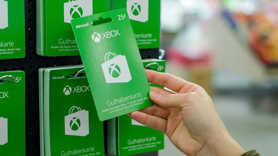 Karta podarunkowa na konsolę Xbox