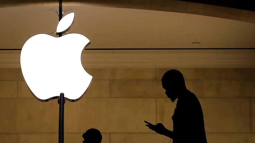 Logo Apple'a. Zdjęcie ilustracyjne (Getty Images)