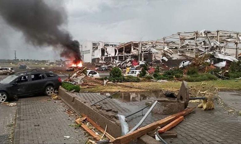 Armagedon w Czechach. Pogoda oszalała. Z miast zostały zgliszcza