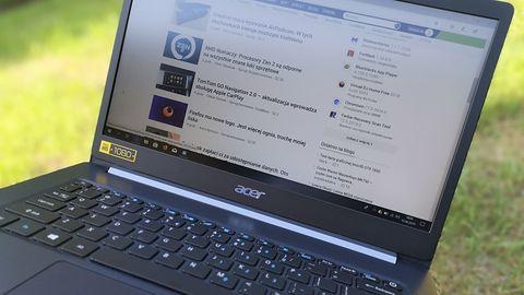 Acer TravelMate X5 – test laptopa, który waży mniej niż paczka cukru