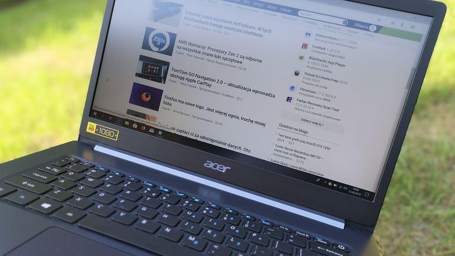 Acer TravelMate X5 – z pozoru typowy, w praktyce nietypowo lekki