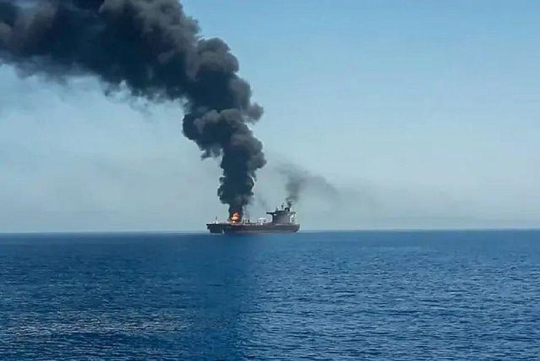 Iran zaatakował izraelski tankowiec. Nie żyją marynarze