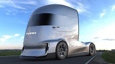 Ford F-Vision Future Truck: Tak wygląda transport przyszłości?