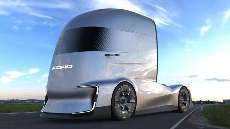 Niektóre projekty aut przyszłości prezentują się nader ciekawie. (fot. materiały prasowe Ford)