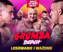 WAŻENIE przed galą GROMDA Beach - DZISIAJ 19:00