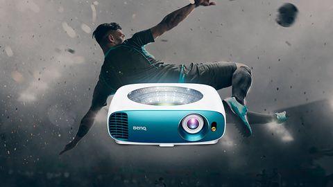 BenQ prezentuje projektor 4K z obsługą HDR, który sprawdzi się w domu i plenerze
