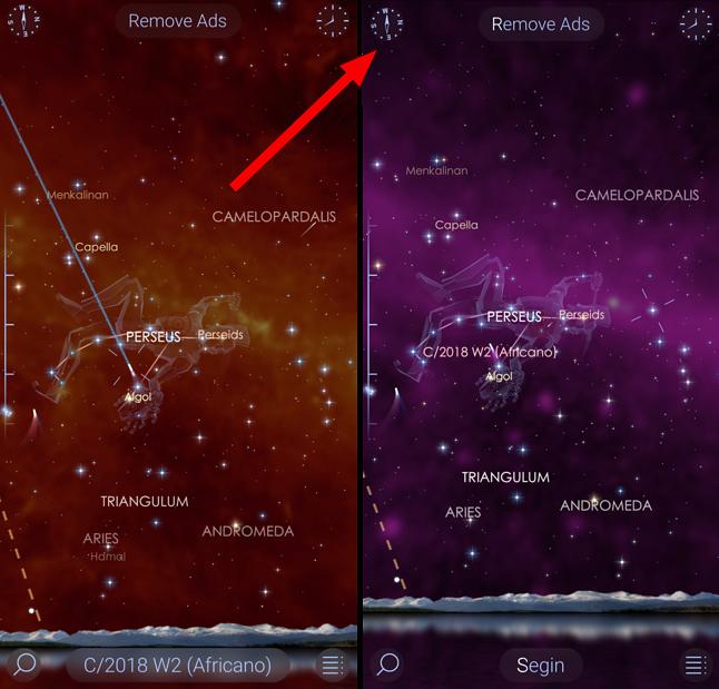 Star Walk 2 pozwala oglądać mapę nieba także w częstotliwościach, których nie widzimy – promieniowanie rentgenowskie, gamma, podczerwień czy mikrofale