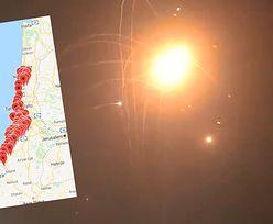 Zmasowany ostrzał Izraela. Syreny alarmowe w całym Tel Awiwie