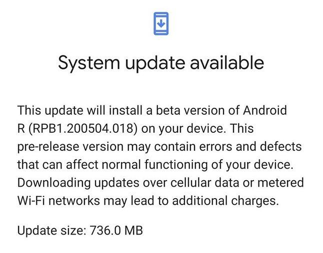 Android 11 beta jest już dostępny w niektórych Pikselach, fot. PhoneArena.