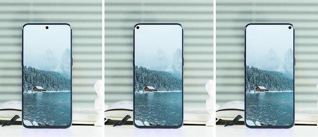 Samsung Galaxy A8s – koncept. Źródło: phonearena.com