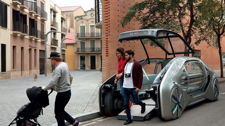 Pojazd-robot Renault ma być alternatywą dla transportu publicznego