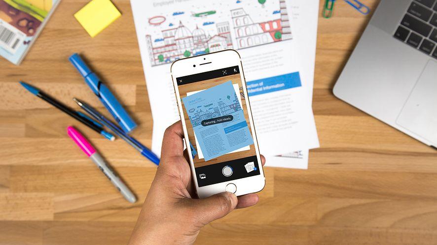 Aplikacja dnia: Adobe Scan