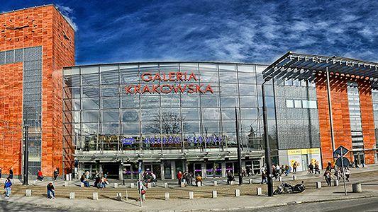 Panorama Galerii Krakowskiej. Tam otwarty zostanie Mi Store