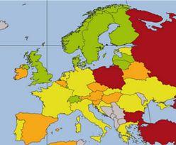 CCPI: Polska czerwoną plamą na mapie Europy. Jesteśmy najgorsi w rankingu