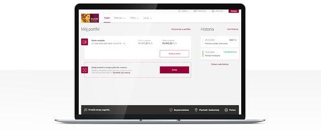 Alior Online oferuje od dziś nową funkcję, fot. Alior Bank.