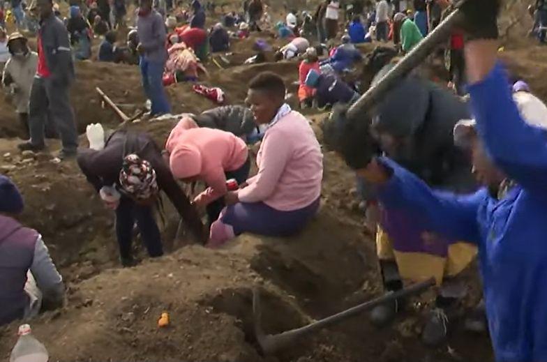 Sensacja w Afryce. Ludzie chwycili za łopaty. Czegoś takiego świat dawno nie widział