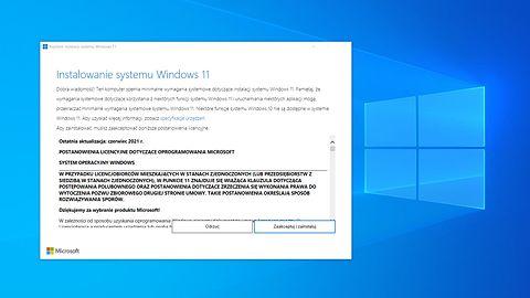 Windows 11: pobierz system z Asystentem instalacji - na własne ryzyko