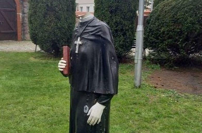Ogromne poruszenie w Myśliborzu. Św. Faustyna straciła głowę