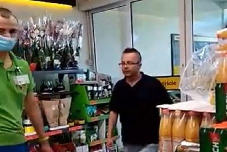 Skandal w Biedronce. Jest nagranie. Szukają klienta