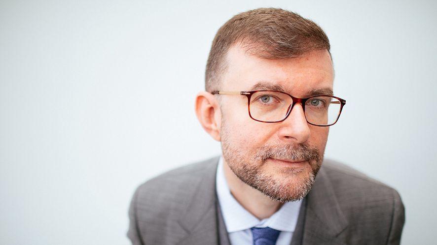 Jacek Dukaj, fot. Albert Zawada