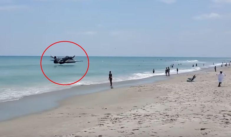 Wypadek podczas pokazu lotniczego w USA. Zobacz nagranie