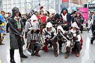 A więc jednak! Assassin's Creed Infinity oficjalnie - Assasin's Creed - cosplay. (Photo by Craig Barritt/Getty Images for ReedPOP )
