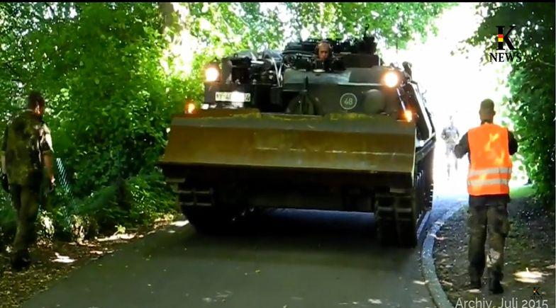 Czołg Wehrmachtu odnaleziony w piwnicy 84-latka. Stanął przed sądem