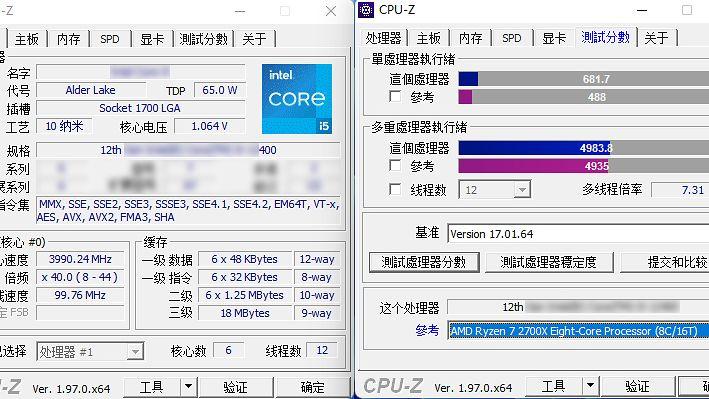 Core i5-12400