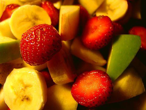Produkty spożywcze dla cery trądzikowej - owoce i warzywa