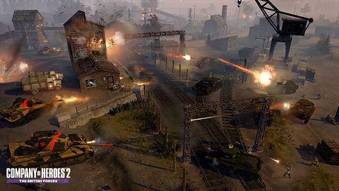 Nowy dodatek do Company of Heroes 2 pozwoli nam poczuć się niczym żołnierze sił brytyjskich
