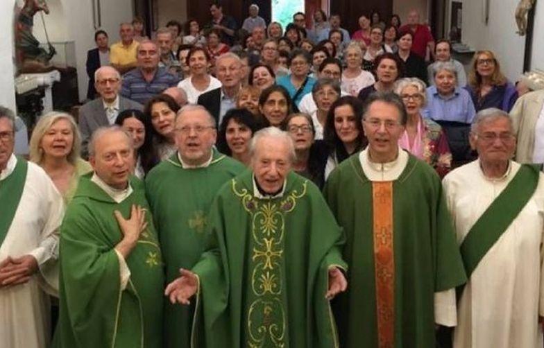 Zmarł 101-letni ksiądz. Miał 7 dzieci