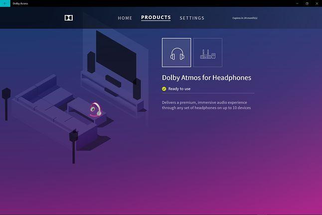 Aplikacja Dolby Access dostępna na Xbox One i Windows 10, fot. materiały własne