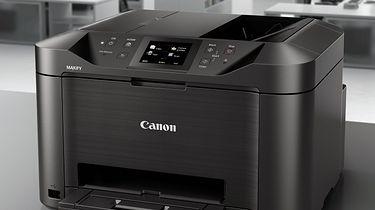 Canon pozwany na 5 milionów dolarów. Miał działać na szkodę klientów - Drukarka wielofunkcyjna MAXIFY MB5150