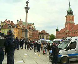 Jeden z protestujących w Warszawie zmarł? Policja odpowiada na doniesienia