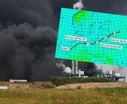 Chmura po wybuchu chemikaliów nadciąga do Polski. Komunikat IMGW